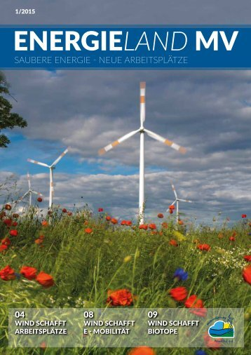 ENERGIElandMV - Saubere Energie - Neue Arbeitsplätze