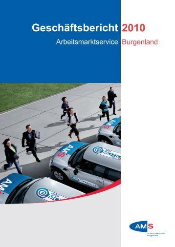 Geschäftsbericht 2010 - Arbeitsmarktservice Österreich