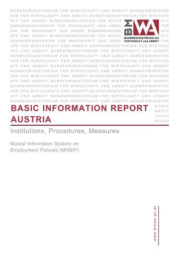 BASIC INFORMATION REPORT AUSTRIA