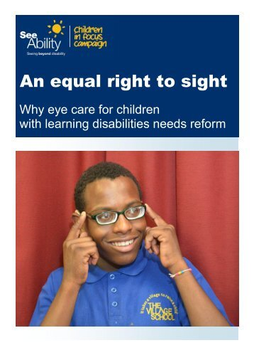 An equal right to sight