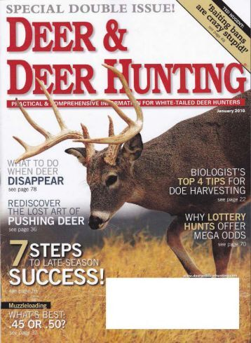 Deer & Deer Hunting Magazine- ATI Adjustable Gun Stock (January ...