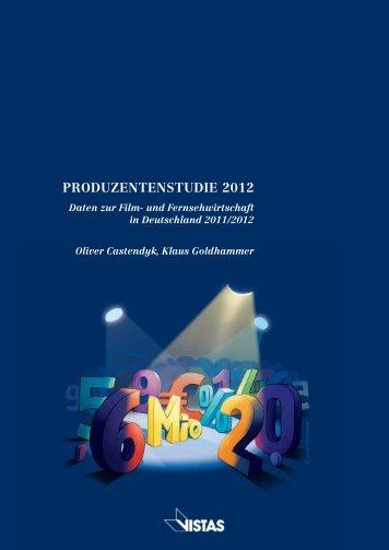 PRODUZENTENSTUDIE 2012