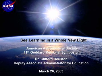 See Learning in a Whole New Light