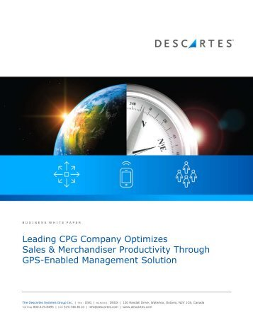 Leading CPG Company Optimizes Sales & Merchandiser ...