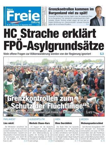 HC Strache erklärt FPÖ-Asylgrundsätze