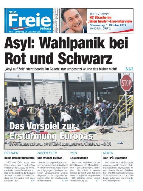 Asyl: Wahlpanik bei Rot und Schwarz