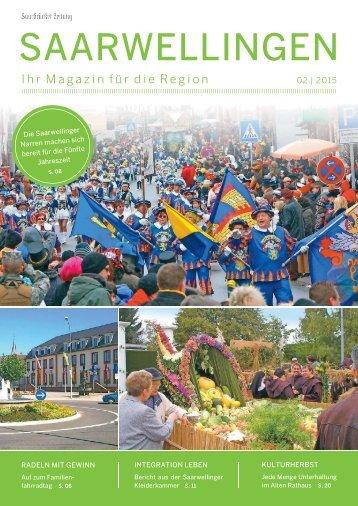 Gemeindemagazin Saarwellingen 02|2015