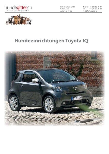 Toyota_IQ_Hundeeinrichtungen