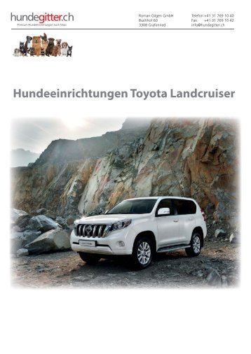 Toyota_Landcruiser_Hundeeinrichtungen