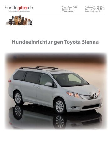 Toyota_Sienna_Hundeeinrichtungen