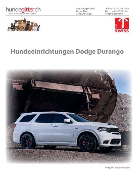 Dodge_Durango_Hundeeinrichtungen