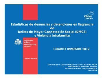 y Violencia Intrafamiliar - Subsecretaría de Prevención del Delito
