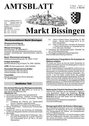Markt Bissingen