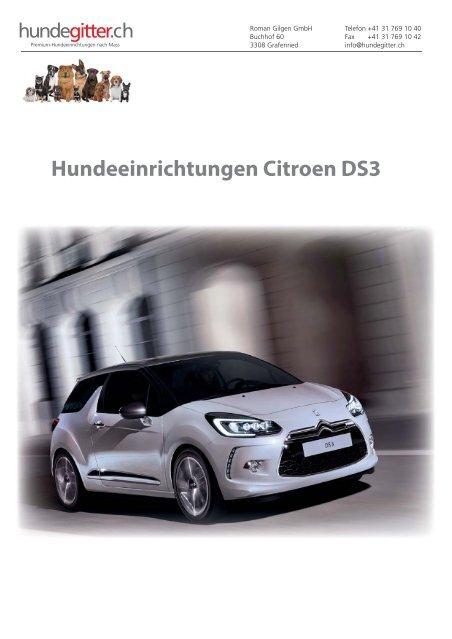Citroen_DS3_Hundeeinrichtungen