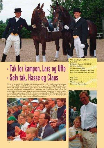 - Tak for kampen Lars og Uffe - Selv tak Hasse og Claus
