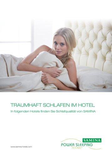 SAMINA Gesund-Schlafen-Hotels