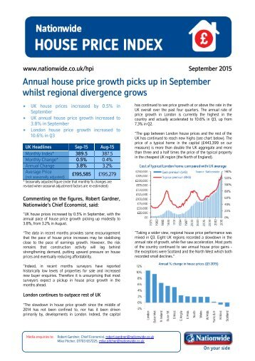 whilst regional divergence grows
