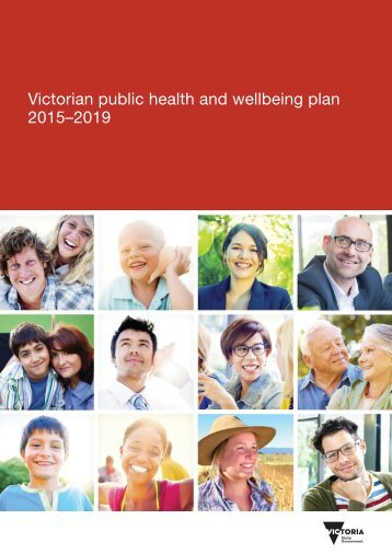 Victorian public health and wellbeing plan 2015–2019