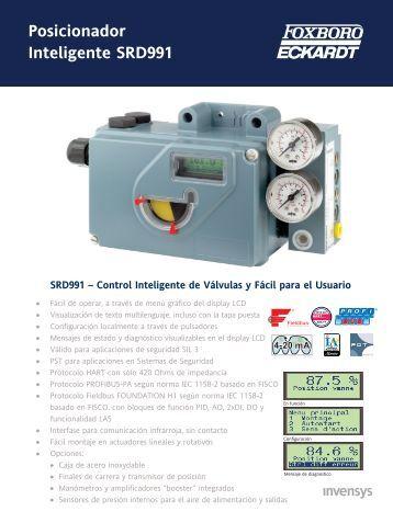 Posicionador Inteligente SRD991 - Foxboro Eckardt