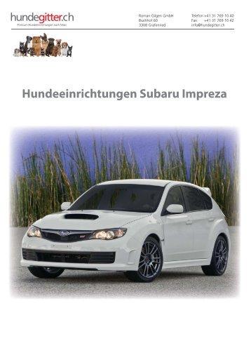 Subaru_Impreza_Hundeeinrichtungen