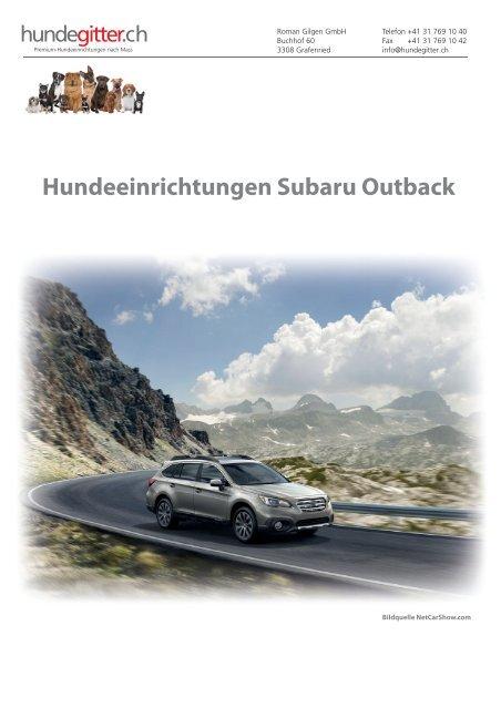 Subaru_Outback_Hundeeinrichtungen