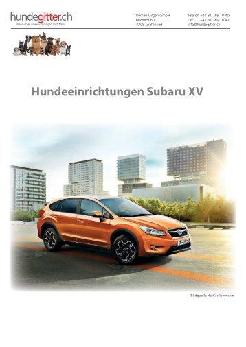 Subaru_XV_Hundeeinrichtungen