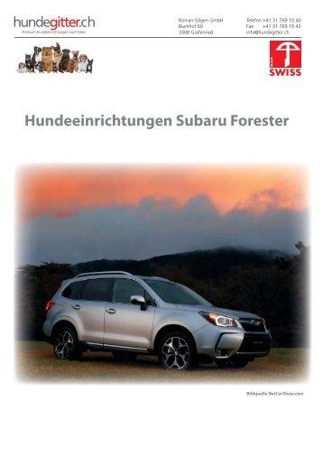Subaru_Forester_Hundeeinrichtungen