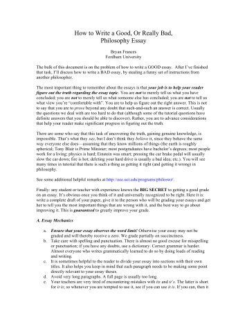 ed philosophy essay While studying to be teachers, we are often asked to write out our personal educational philosophies this is not just an empty exercise, a paper only meant to be filed in the back of a drawer to the contrary, your educational philosophy statement should be a document that serves to guide and.