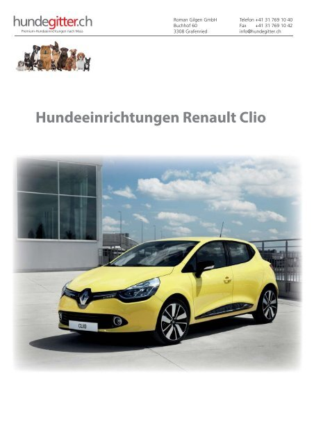 Renault_Clio_Hundeeinrichtungen