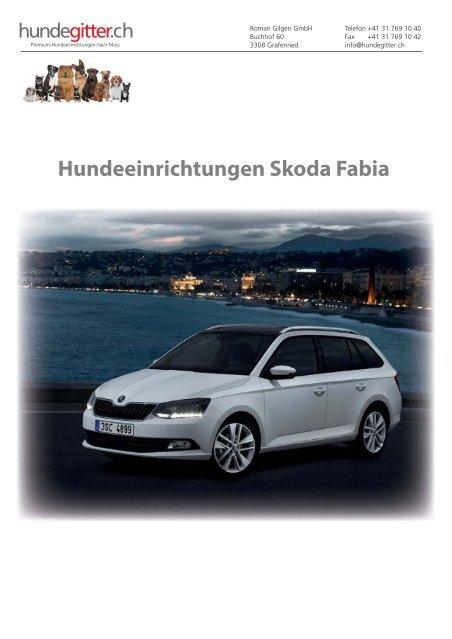 Skoda_Fabia_Hundeeirnichtungen