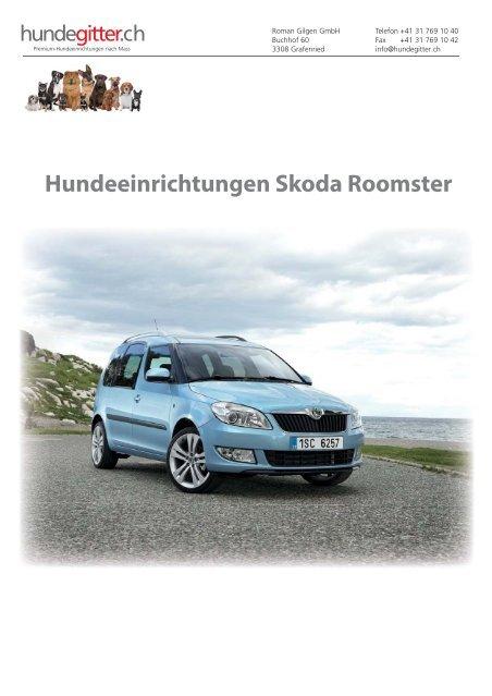 Skoda_Roomster_Hundeeirnichtungen