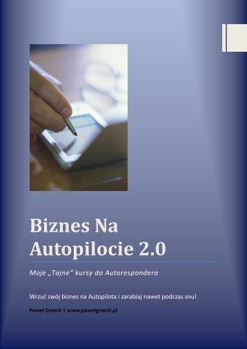 Autopilocie 2.0