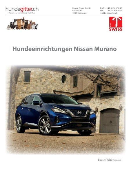 Nissan_Murano_Hundeeinrichtungen