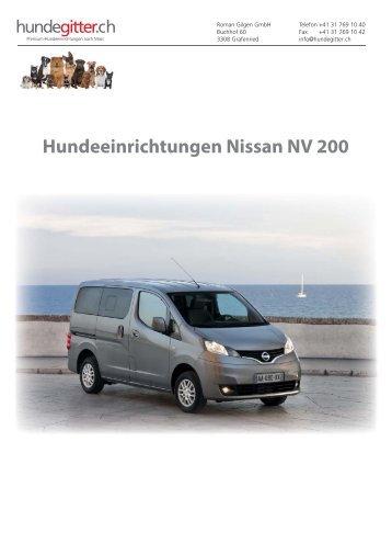 Nissan_NV_200_Hundeeinrichtungen