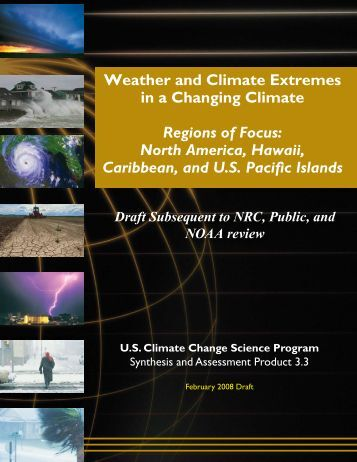 Draft w - US Climate Change Science Program