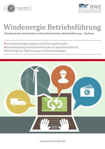 Windenergie Betriebsführung - Leseprobe