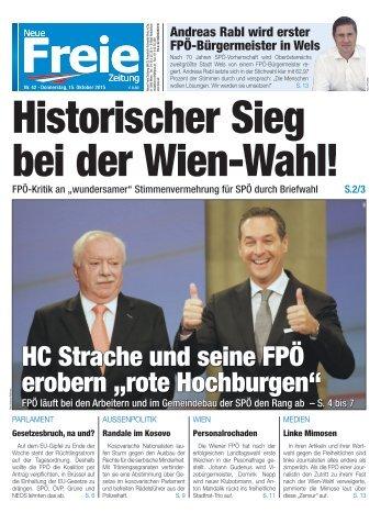 Historischer Sieg bei der Wien-Wahl