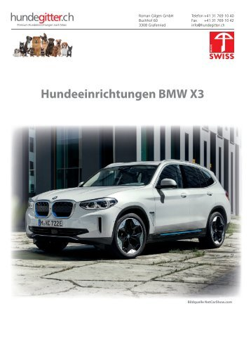 BMW_X3_Hundeeinrichtungen