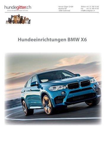 BMW_X6_Hundeeinrichtungen