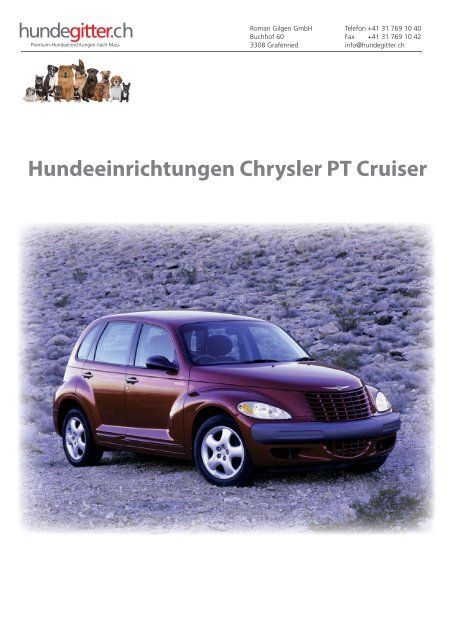 Chrysler_PT_Cruiser_Hundeeinrichtungen