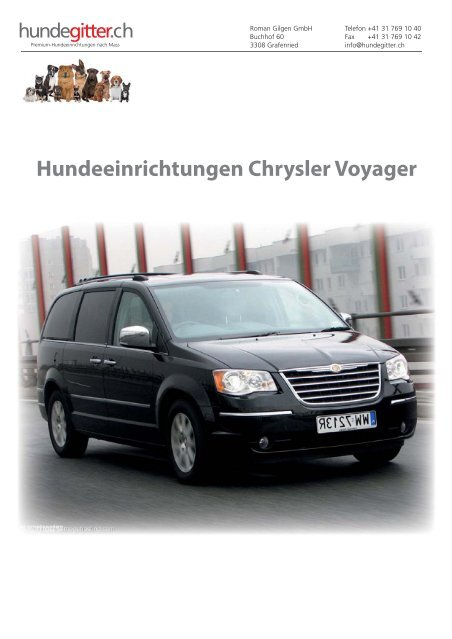 Chrysler_Voyager_Hundeeinrichtungen