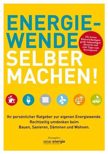 Energiewende selber machen - Leseprobe