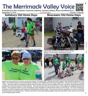 Merrimack Valley Voice - September 2015