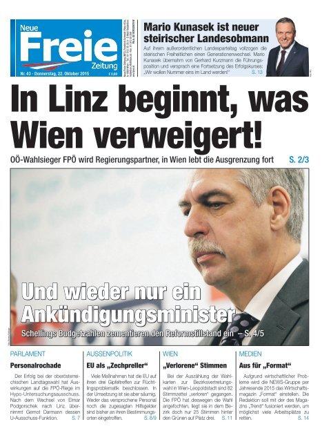 In Linz beginnt, was Wien verweigert!