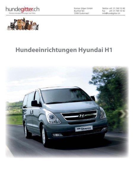 Hyundai_H1_Hundeeinrichtungen