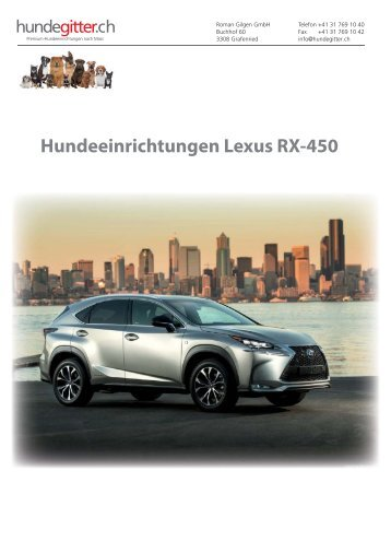 Lexus_RX-450_Hundeeinrichtungen