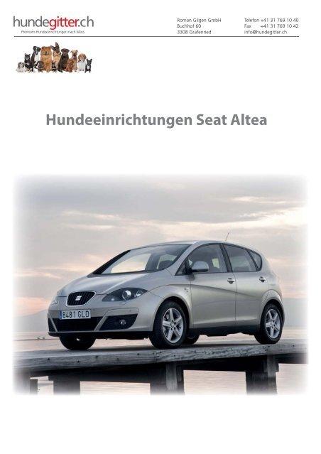 Seat_Altea_Hundeeirnichtungen