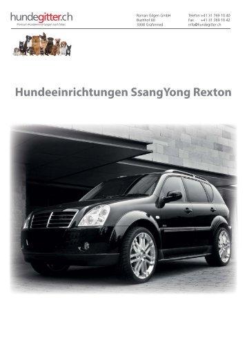 SsangYong_Rexton_Hundeeinrichtungen