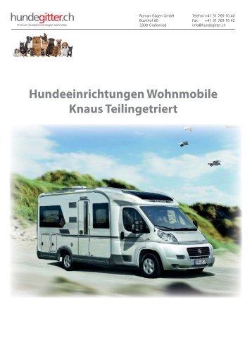 Hundeeinrichtungen_Wohnmobile_Knaus_Teilintegriert