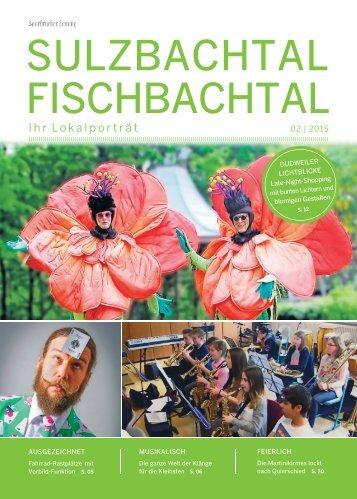 Gemeindemagazin Sulzbachtal-Fischbachtal 02|2015